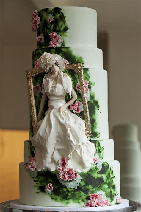 enchanting spring wedding cake ideas