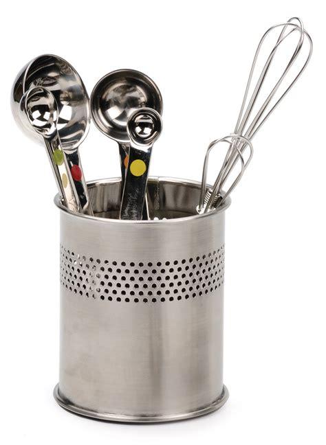 kitchen tool caddy rsvp mini kitchen utensil tool caddy holder crock spoons
