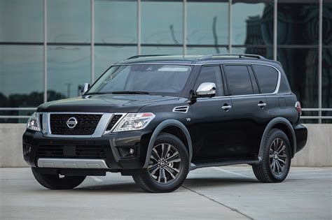 2018 Nissan Armada Gets New Tech Upgrades, Has Starting