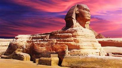 Sphinx Egyptian Widescreen Egypt Ancient Resolutions Pyramids