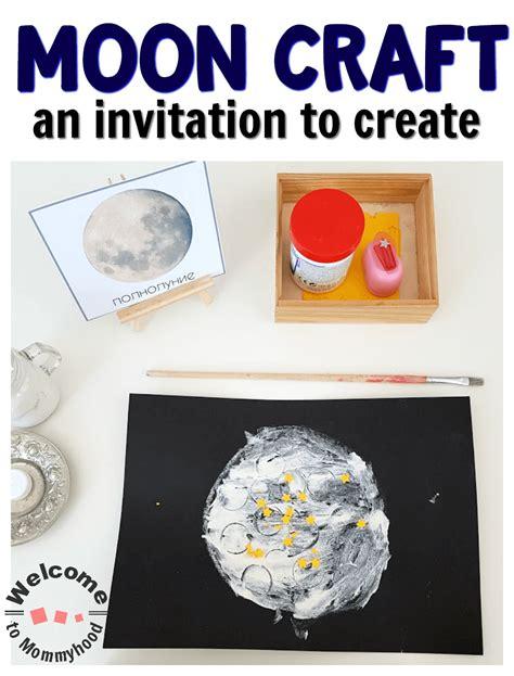 moon craft for preschool or kindergarten on child 960 | Moon Craft