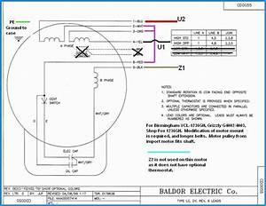 4 Lead Single Phase Motor Wiring Diagram
