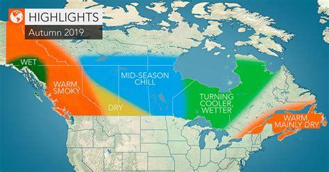 Previsão do tempo para o outono no Canadá gera surpresa ...