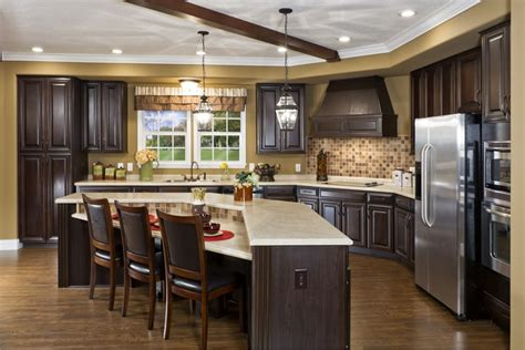 remodeled kitchens with islands modular home kitchen photos pratt homes