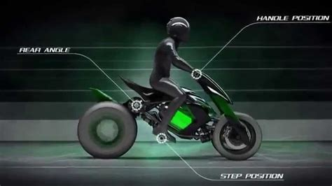 Motorcycles Of The Future. Kawasaki J Concept Electric