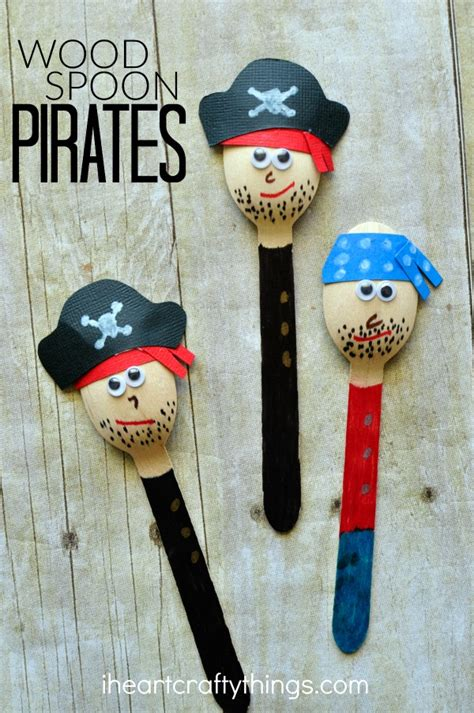 Pirate Themed Nursery by Awesome Pirate Craft For Kids I Heart Crafty Things