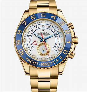 Cheap Replica Rolex Yacht Master II Watch 18 Ct Yellow