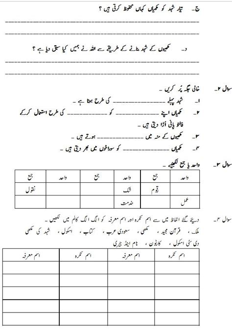 collection of urdu numbers worksheet them and