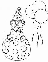 Coloring Clown Pages Face Printable Happy Sad Krusty Killer Drawing Template Craft Getdrawings Bestcoloringpagesforkids Ball sketch template