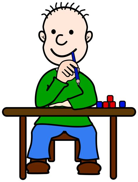 Thinking Clipart Best Child Thinking Clipart 14278 Clipartion