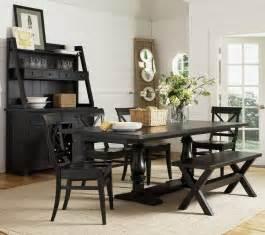 15 striking black kitchen tables love home designs kitchen table sets