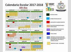 Yucatán Calendario escolar
