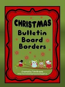 Bulletin Board Borders Christmas Set 1 by TchrBrowne