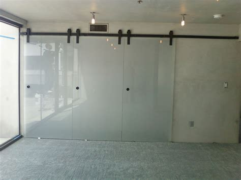 barndoorhardwarecom glass barn doors interior sliding