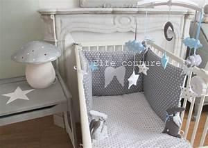 Tour De Lit 60x120 : tour de lit r versible petit prince 60x120 tons blanc ~ Teatrodelosmanantiales.com Idées de Décoration