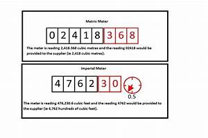 Gas Meter Readings And Bill Calculation