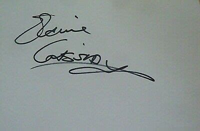 ELAINE CASSIDY SIGNED 6X4 WHITE CARD TV AUTOGRAPH HARPERS ...