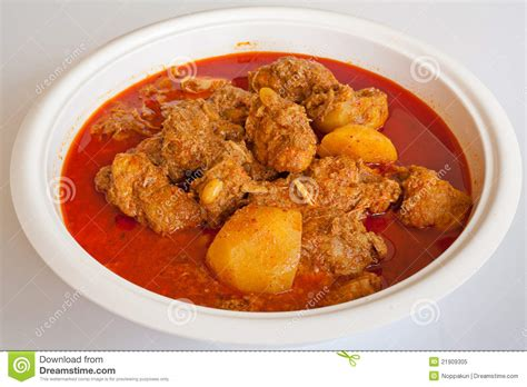 curry cuisine massaman curry style food royalty free stock photo
