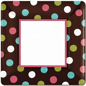 Polka Dot Border Clipart - Clipart Suggest