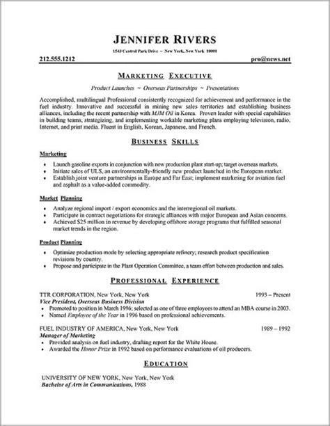The Correct Format Of A Resume by Onebuckresume Resume Layout Resume Exles Resume Builder