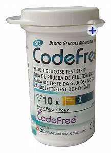 Sd Codefree Blood Glucose Meter  Monitor Test  Testing Kit