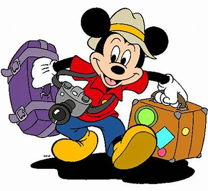 Mickey Mouse Vacation Disney Packing Clipart Walt