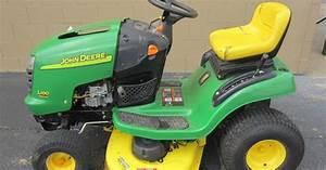 John Deere L100 L110 L120 L130 Lawn Tractor Service