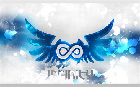 Cool Blue Background Hd Infinity Wallpaper 41654