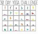 Exercise Challenge Chart – Template Calendar Design