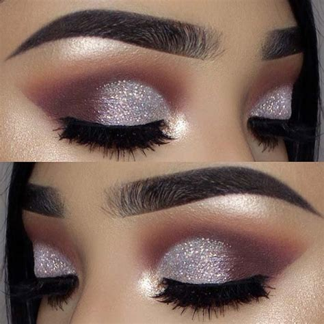 glitzy  years eve makeup ideas crazyforus