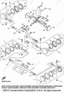 Yamaha Motorcycle 2002 Oem Parts Diagram For Flasher Light