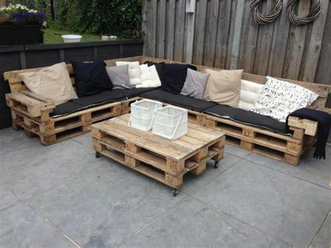 gartenmöbel selber bauen lounge gartenm 246 bel aus paletten selber bauen und den au 223 enbereich