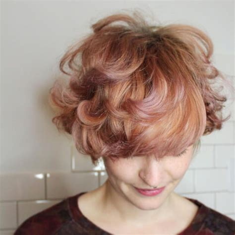 alluring rose gold hair color ideas