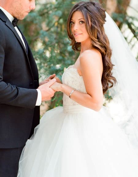 peinados de novia  pelo suelto club de novias