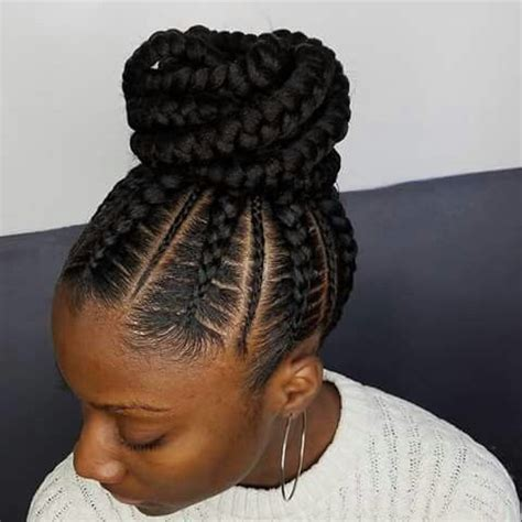Black Hairstyles Braided Updos by Kayabrigette Braided Hairstyles