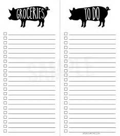 printable grocery list and simple to do list live laugh rowe