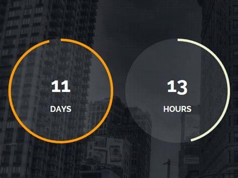 modern circular jquery countdown timer plugin final countdown