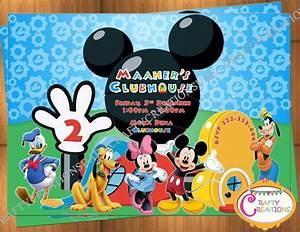 Mickey Mouse Geburtstag : die besten 25 mickey mouse einladung ideen auf pinterest mickey mouse geburtstag mickymaus ~ Orissabook.com Haus und Dekorationen