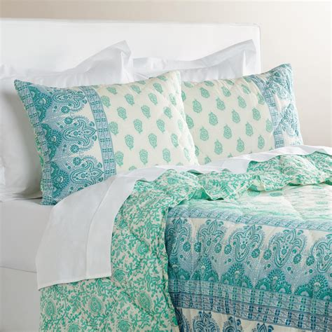 34398 world market bedding ombre paisley nalina bedding collection world market