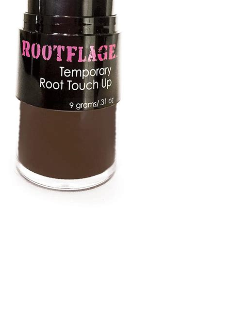 rootflage dark brown temporary root touch  hair powder