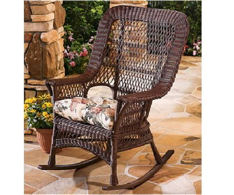 manchester all weather high back wicker rockers set of 2