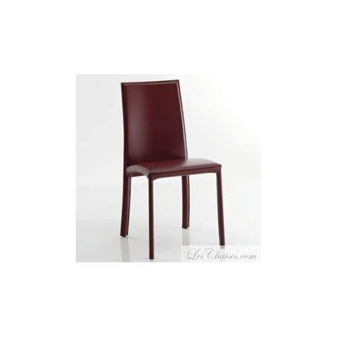 chaise cuir salle a manger chaise en cuir de salle a manger barbara et chaise