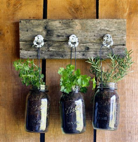 diy mason jar planter diyideacentercom