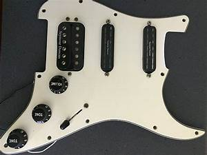Loaded Strat Hss Pickguard Seymour Duncan Distortion  Cool