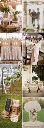 burlap wedding ideas 45 chic rustic burlap lace wedding ideas and inspiration tulle chantilly wedding