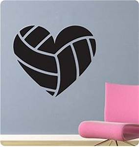 1000 ideas about volleyball party on pinterest With the best of volleyball wall decals