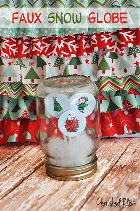 cute  creative diy snow globe ideas