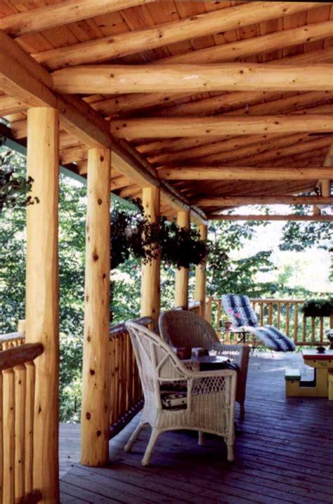 peeled logs log beams rafters  woodworkers shoppe