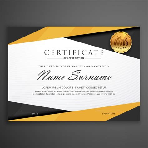 modelo geometrico amarelo  preto projeto certificado