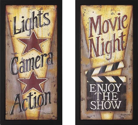 night decorating ideas lights camera action